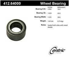 Wheel Bearing-Premium Bearings Front,Rear Centric 412.64000