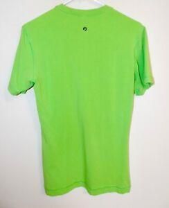 Men's Lululemon Basic S/S Crew Neck T-Shirt Green Small