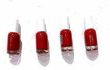 Original Matte Nail Paint, blood  Red colour 6ml  X 4 PACK Free Shipping