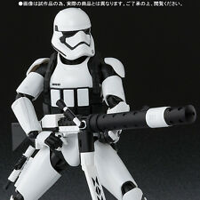 "In STOCK S.H Figuarts Star Wars ""First Order Stormtrooper Heavy Gunner"" Figure"