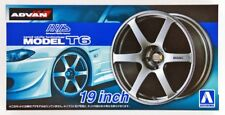 "1/24 AVS Model T6 19"" Tire Wheel Set AOSHIMA CAR MODEL ACCESSORY"