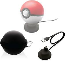 Nyko Nintendo Switch Pokemon Poke Ball Plus Charger Dock Stand & Carrying Case