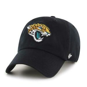 Jacksonville Jaguars 47 Brand Clean Up Adjustable On Field Cotton Hat Cap NFL