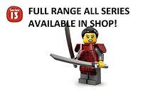 Lego minifigures samurai series 13 (71008) unopened new factory sealed