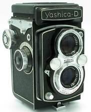 Yashica - D  - zweiäugige Spiegelreflex - 6x6 - TLR - analog -