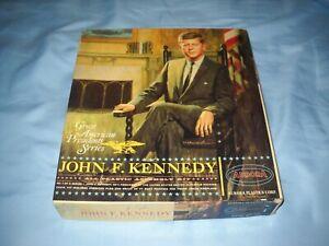 Aurora - Original Square Box - 1965 John F. Kennedy Fireside Chat