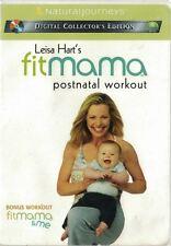 Leisa Hart's FitMama Postnatal Workout DVD 2003 Exercise Workout