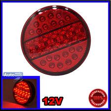 12 V LED Fog Red TAIL LIGHTS HAMBURGER REAR LORRY TRUCK TRAILER SCANIA