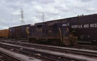C&O CHESAPEAKE & OHIO Railroad Locomotive 5905 N&W Original 1978 Photo Slide