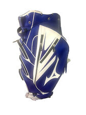 New listing mizuno staff golf bag blue and white slightly used very good condition