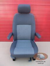 Seat VW T5 Timo Anthrazit front driver comfort adjustments armrests Facelift GP