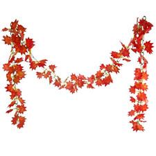 8ft Autumn Maple Leaf Garland