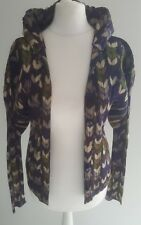 Lovely!Issey Miyake Pleats Please patterned sculpted long sleeve jacket/cardigan