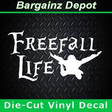 skydive wingsuit parachute helmet vinyl decal sticker