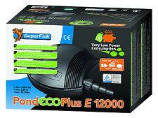 SF Teichpumpe Pond ECO Plus E 12000, 85 Watt Filterpumpe Bachlaufpumpe