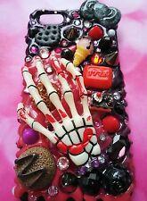 iPhone 7 plus glittering case spooky cute halloween skeleton hand sweets
