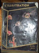 NOEL  1933  L ILLUSTRATION No SPECIAL JAPON