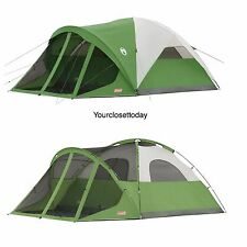NEW Coleman 6 Person 14 x 10 Tent Screen Room Hiking Camping Outdoor Cabin Dome