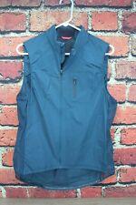 EUC Rapha Gilet II Blue XL Men's Cycling Vest Packable