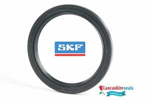 SKF Oil Seal  12x24x7mm Nitrile Rubber Double Lip R23 TC With Garter Spring