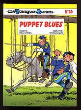 TUNIQUES BLEUES T 39  PUPPET BLUES   LAMBIL / CAUVIN     EO