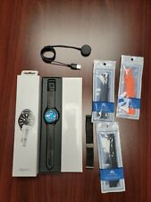 Samsung Galaxy Watch3 LTE SM-R845 45mm Stainless Steel Case with Leather Strap