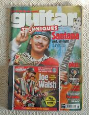 Guitar Technques magazine June 2000. Excellent condition with original CD.
