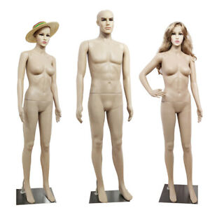 Male/Female Hanging Full Body Mannequin Top Quality Dummy Display Bust Retail UK