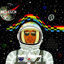 Hot Kid Cudi Rap Singer Star Art Wall Poster 24X24 Inch 002