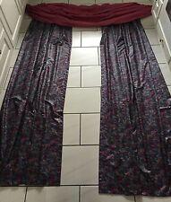 Fertigfenster Gardine Vorhang Schal Store Seitenschal + Bogen Querbehang TOP