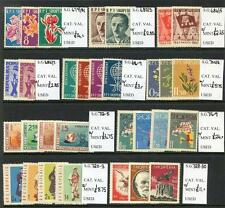 Albania 1961 - 62 Run of 10  Commemorative Sets unmounted mint (2017/05/25#15)