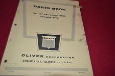 Oliver Tractor 137 Hay Conditioner Dealer's Parts Book Manual BVPA