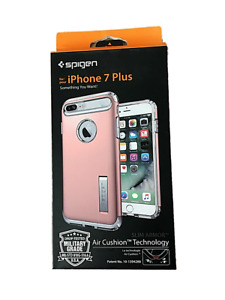 iPhone Case by Spigen iPhone 6+, 6S+ and 7+ Plus Rose Gold & Champagne NIB