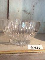 "VINTAGE CRYSTAL CUT GLASS  BOWL 5.5"" Diameter Bonbon Dish"