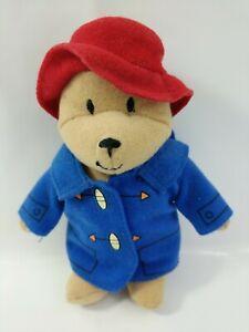 2001 Mcdonalds Happy Meal Toy UK - PADDINGTON BEAR - Soft plush #727