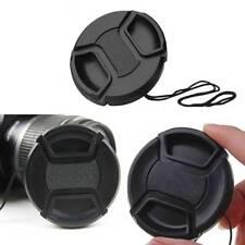 1Pc 52 mm Front Lens Cap Center Snap on Lens Caps For DSLR Camera Plastic Sales