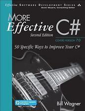 More Effective C# (Includes Content Update Program): 50 Specific Ways to Improve