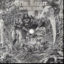 GRIM REAPER ROCK YOU TO HELL EVA-TONE SOUNDSHEET FLEXI DISC RECORD
