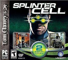Tom Clancy's Splinter Cell Pandora Tomorrow (PC, 2004) GAME ONLY 3CD FREE SHIP