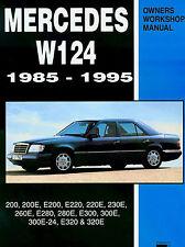 MERCEDES SHOP MANUAL SERVICE REPAIR BOOK 124 W124 300 300E 260E E320 1985-1995