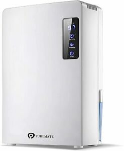 PureMate 2.2L Digital Dehumidifier with Air Purifier Condensation Moisture Damp