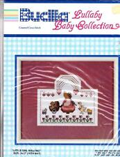 Bucilla Counted Cross Kit  # 40242 Little Girl Walking Lullaby Baby Collection