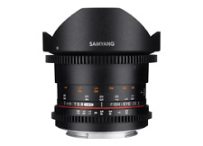 Brand New Samyang 8mm T3.8 VDSLR UMC Fish-eye CS II for Sony E