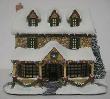 Thomas Kinkade From The Heart Gifts Hawthorne Village Lighted 2000 Coa Christmas