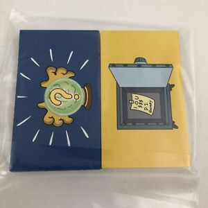 Simpsons Monopoly Replacement Parts Complete Set 32 Community Chest Chance Cards
