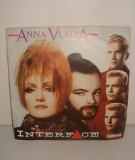 DISQUE VYNIL 45 TOURS 45T ANNA VLADIA INTERFACE 1987
