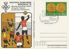 Poland postmark WARSZAWA - sport Olympic philatelic exhibition