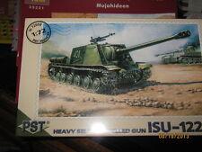 PST-WWII Russian ISU-122S Heavy selbst angetrieben Gun-1/72 Scale-kostenloser Versand