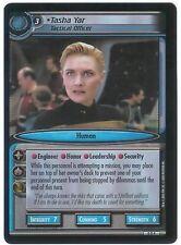 Star Trek CCG 2E FOIL 0D4 Tasha Yar, Tactical Officer EX