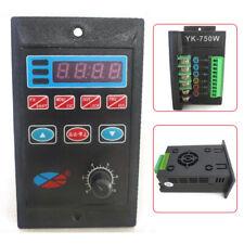 110v 220v Single Phase3 Phase Variable Frequency Drive Converter Motor 750w